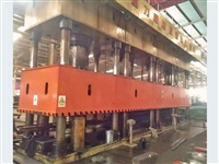 4,000 ton Ultra Wide Bed China Built 16-Column 4-Cylinder | Hydraulic Press, used to press Truck Beams, Re:25775