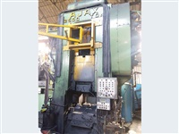 2500 tonne Ajax MF Press w/wide steel Pitman, | Sgl Pt bottom KO & Alloy Steel Ram, Exceptional, Re:25755